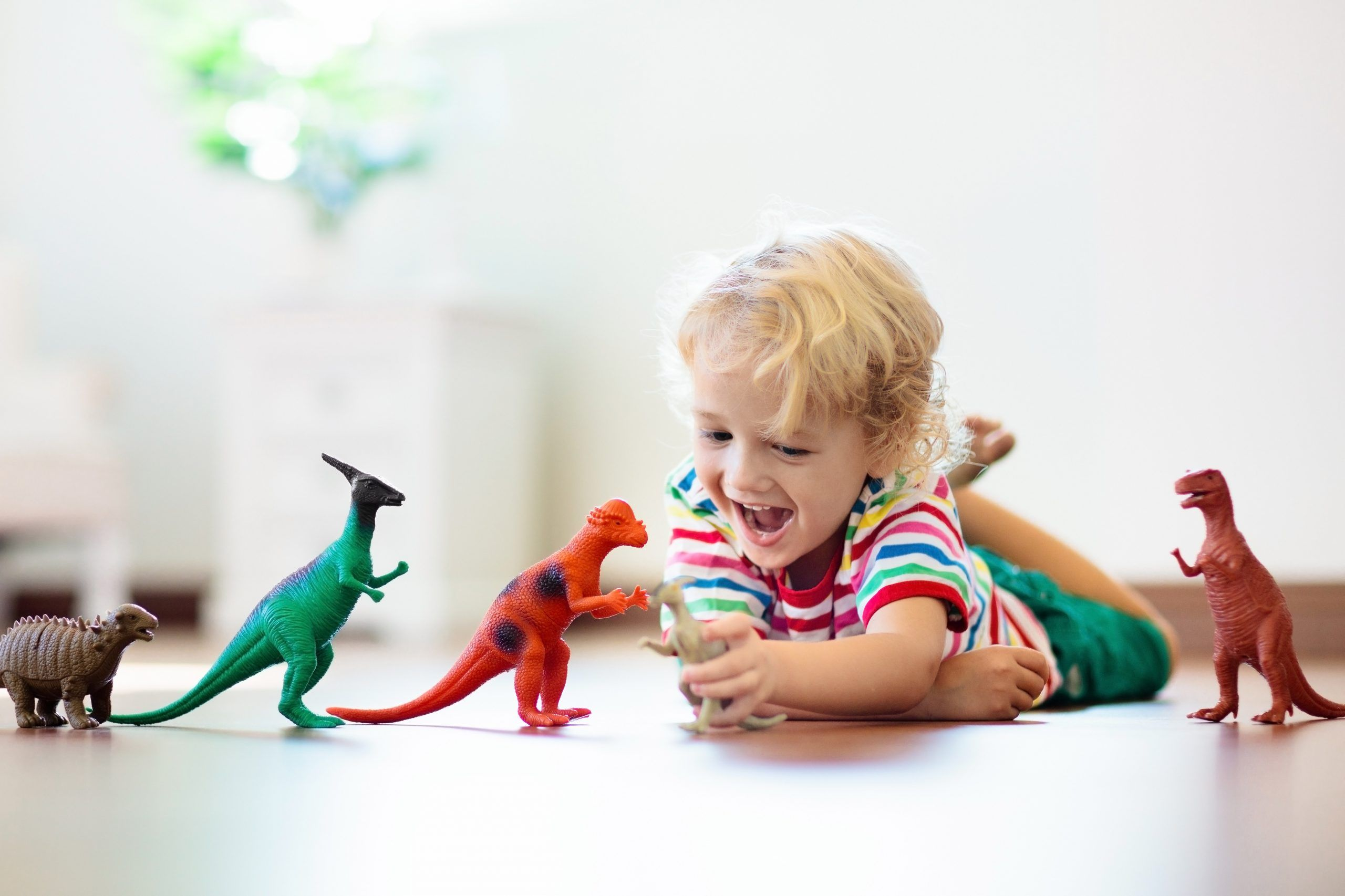 Adopted Child Playing